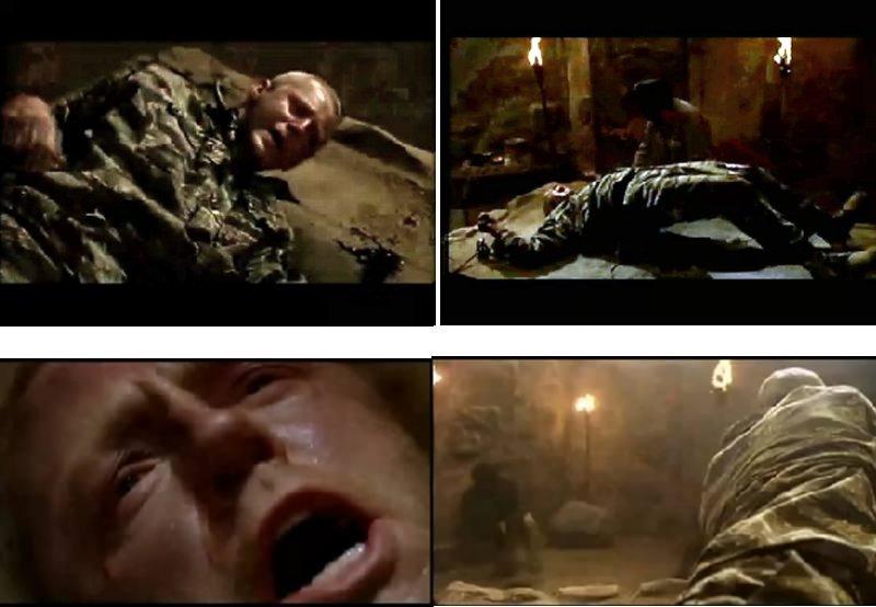Torture scenes.
