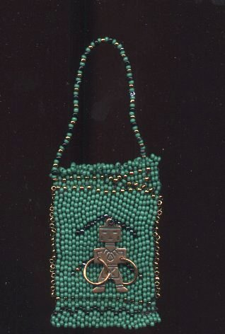 Beaded purse for mom
