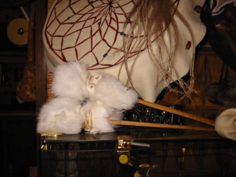rabbit fur drum beaters