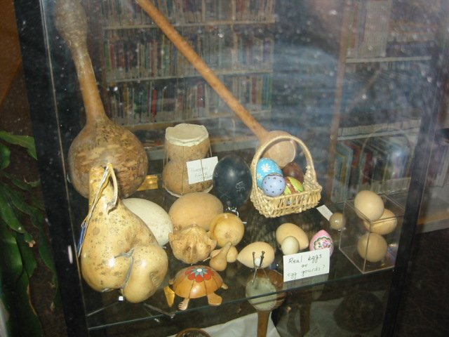 Middle shelf of the Children's display case.