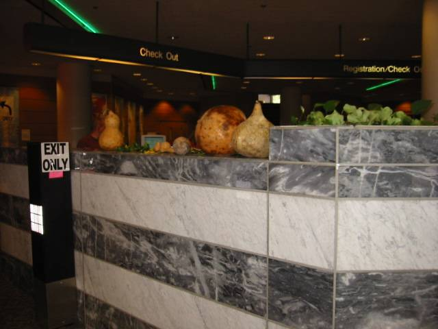 Gourds at exit, 1